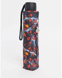 Fulton Leopard Print Umbrella-multi - Multicolor