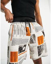 Sixth June Shorts s con estampado - Blanco