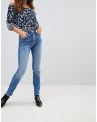 Pepe Jeans - Cropped Skinny Jeans - Lyst