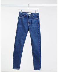 TOPSHOP Jamie - Jean skinny - intense - Bleu