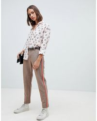 Maison Scotch - Glitter Tailored Pants - Lyst