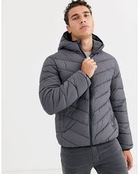 New Look Puffer Jacket - Grey