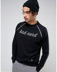 Cheap Monday Bloke Bad Nerd Sweatshirt - Black