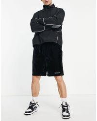 Mennace Jersey Shorts - Black