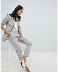 Reiss - Tailored Pinstripe Pants - Lyst