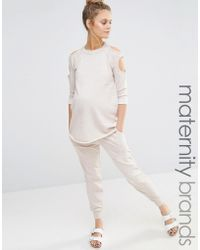 Bluebelle Maternity - Lounge Sweat Jogger - Lyst