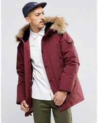 Carhartt WIP Anchorage Parka - Red