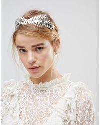 ASOS - Leaf Headband - Lyst