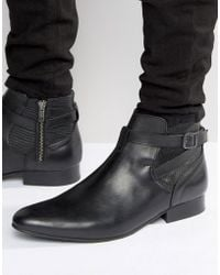 House Of Hounds - Albion Leather Jodphur Boots - Lyst