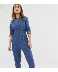 93a004ce02 Lyst - Women s Noisy May Petite Jumpsuits Online Sale