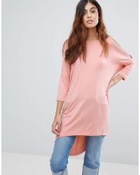 Vero Moda - Oversize T-shirt - Lyst