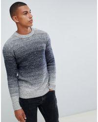 d173d0d82 Jack   Jones - Originals Knitted Jumper With Mixed Yarn Fade - Lyst
