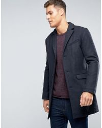 Esprit Wool Overcoat - Gray