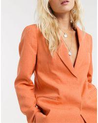 TOPSHOP Blazer Co-ord - Orange