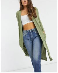 Brave Soul Nellie Lounge Robe - Green