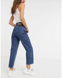 Won Hundred Pixi - Jeans con pannelli blu
