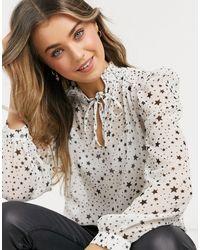 Morgan – hochgeschlossenes hemd - Mehrfarbig
