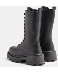 TOPSHOP Knee Boots - Black