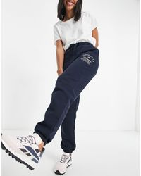 Fiorucci Commended - Joggers blu navy con logo