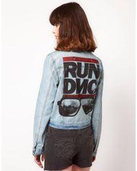 Amplified Run Dmc Denim Jacket - Blue