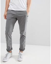 Esprit - Slim Fit Elasticated Waist Chino - Lyst