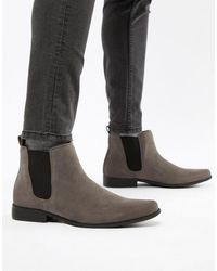 ASOS Chelsea Boots - Gray