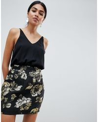 AX Paris Платье Металлик 2 В 1 -мульти - Многоцветный