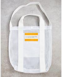 CALVIN KLEIN JEANS EST. 1978 Calvin Klein Jeans – Established 1978 – Tragetasche mit Logo - Weiß