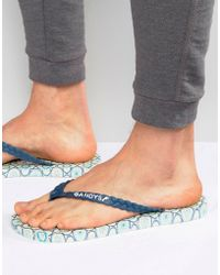 Gandys - Thongs X Liberty Print Tile - Lyst