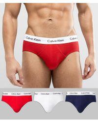 Calvin Klein - 3 Pack Basic Brief - Lyst