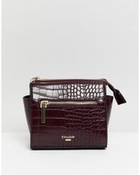 Dune - Micro Cross Body Bag With Zip Detail - Lyst