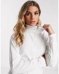 Columbia Glacial Half Zip Fleece - White