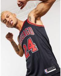 Nike Basketball Jersey de los Chigago Bulls - Negro