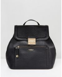 Carvela Kurt Geiger - Structured Backpack - Lyst