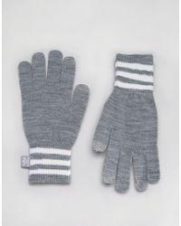 adidas Originals Gloves In Gray Ay9076 - Gray