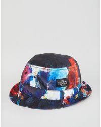 Criminal Damage - Bucket Hat Abstract - Lyst