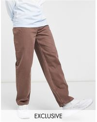 Collusion X014 90s baggy Jeans - Brown