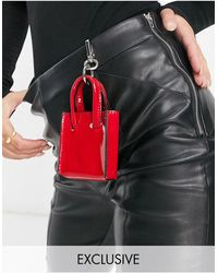 Glamorous Exclusive - Mini Tote Met Musketsluiting - Rood