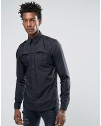 Rogues Of London - Skinny Shirt - Lyst