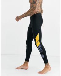 adidas Originals - Черные Леггинсы Adidas Training-черный - Lyst