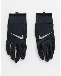 Nike Черные Мужские Перчатки Running-черный