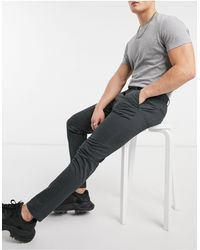 Pull&Bear Skinny Smart Chinos - Grey