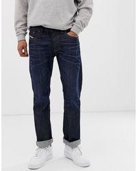 DIESEL – Larkee – Gerade geschnittene Jeans - Blau