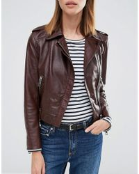 Whistles - Leather Jeans Belt - Lyst