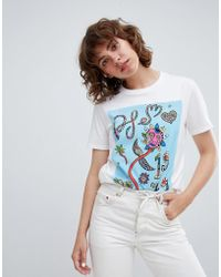 PS by Paul Smith - Ps By Paul Smith Multi Graphic T-shirt - Lyst