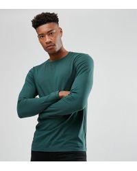 ASOS - Tall Long Sleeve Crew Neck T-shirt - Lyst