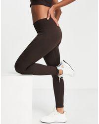 Hoxton Haus Seamless Gym leggings - Brown