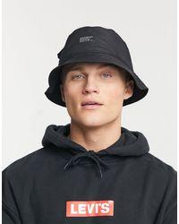 Levi's Bucket Hat - Zwart