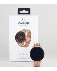 Misfit - Mis7008 Vapor Bracelet Display Smart Watch In Rose Gold - Lyst