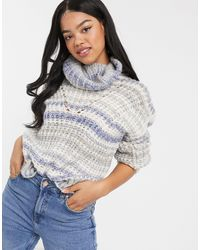 Hollister Turtleneck Sweater - Gray